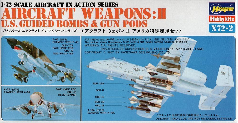 1/72 US AIRCRAFT WEAPONS II