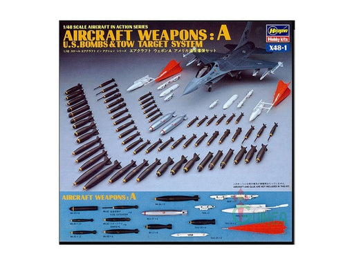 1/48 U.S. AIRCRAFT WEAPONS A