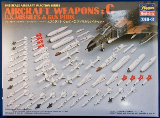 1/48 U.S. AIRCRAFT WEAPONS C