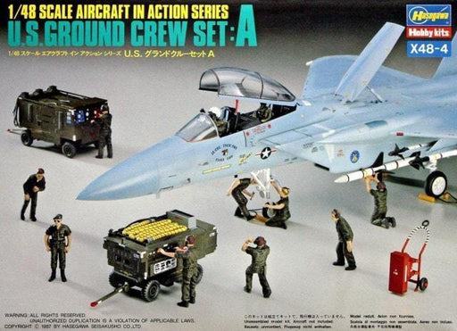 1/48 U.S. GROUND CREW SET A