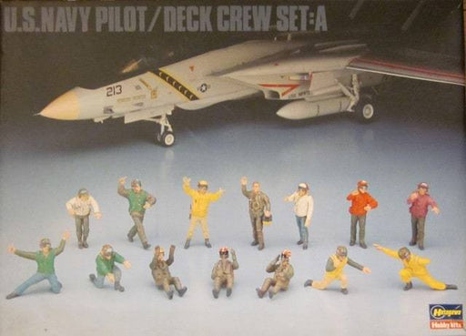 1/48 U.S. NAVY PILOR AND CREW SET A
