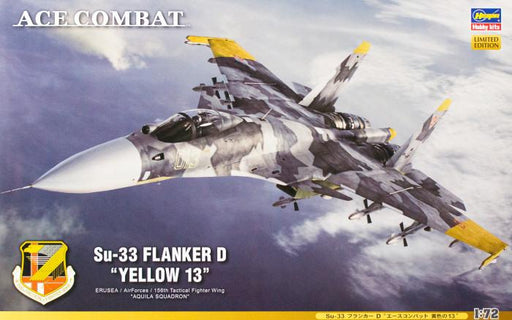 1/72 SU-33 FLANKER D ACE COMBAT YELLOW LIMITED