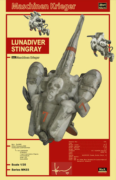 1/35 MACHINEN KRIEGER LUNADIVER STINGRAY
