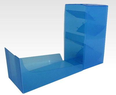 DICE TOWER - CLEAR BLUE