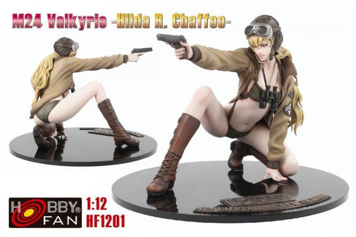 1/12 M24 VALKYRIE - HILDA R. CHAFFEE - HOBBY FAN (RESIN KIT)