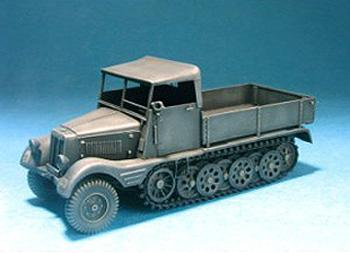 1/35 'SD.KFZ.11/1 WITH WOOD CAB CONVERSION
