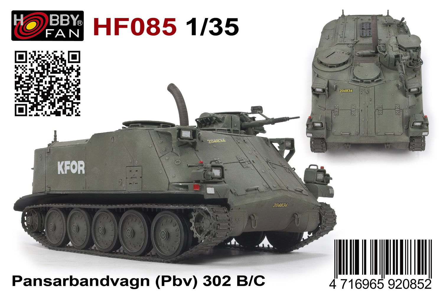 1/35 PBV 302 B/C INCLUDED DECAL