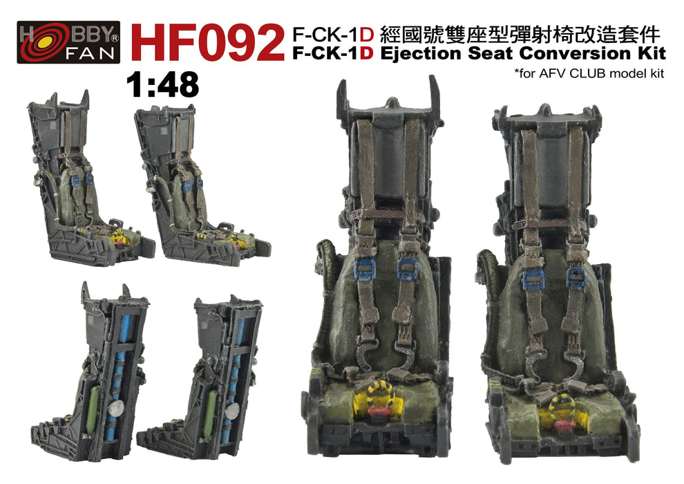 1/48 F-CK-1C EJECTION SEAT CONVERSION KIT FOR AR48109