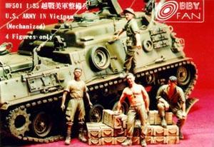 1/35 US ARMY IN VIETNAM - 4 FIGURES