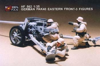 GERMAN PAK40 EASTERN FRONT - 3FIGURES