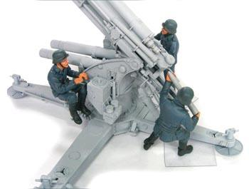88MM FALK CREW SET 2 (LUFTWAFFE) 3 FIGURES