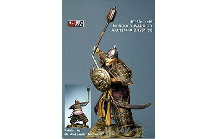 1/16 MONGOLS WARRIOR A.D. 1274-A.D. 1281 (1)