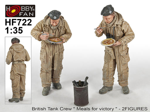 1/35 T-34 TANK CREW (2) ACCLAIM - 2 FIGURES