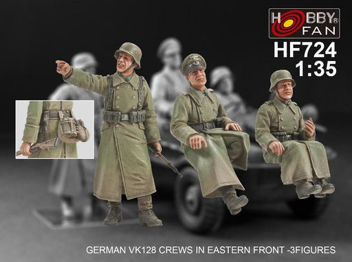 1/35 GERMAN VK128 CREWS IN EASTERN FRONT - 3 FIGS