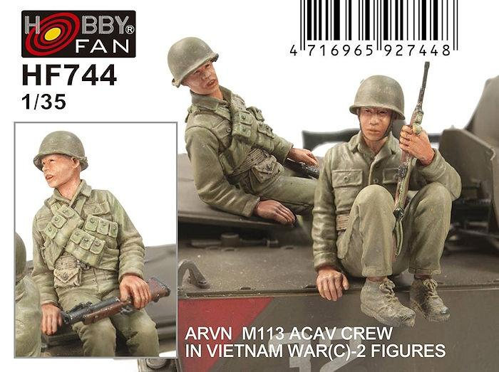 1/32 ARVN M113 CREW (C) IN VIETNAM WAR - 2 FIGURES