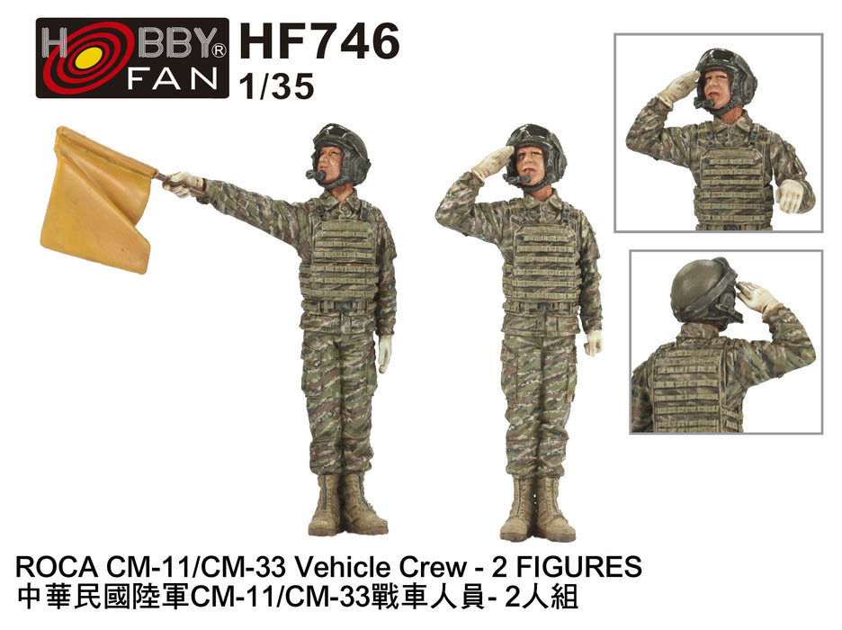 1/35 ROCA CM-11/CM-33 VEHICLE CREW - 2 FIGURES