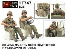 1/35 US ARMY M54 5 TON TRUCK DRIVER & RIDER (2 FIG FOR AF35300)