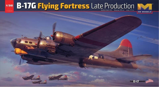 1/32 B-17G FLYING FORTRESS LATE VERSION