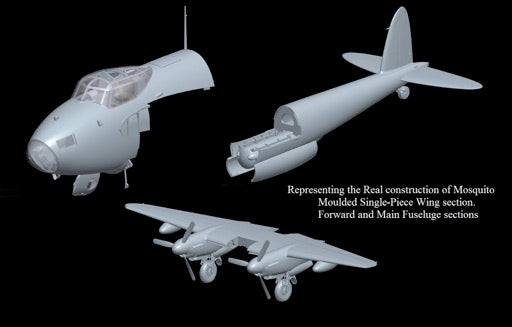 "1/32 DE HAVILLAND MOSQUITO B MK.XVI ""THE MASSIE"" HONG KONG MODEL 01E016"
