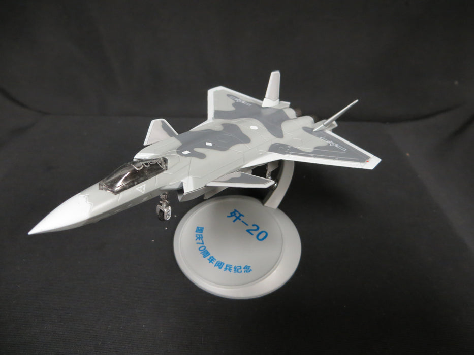 1/144 CCP China PLA Air Force J-20 Stealth Fighter Diecast Model