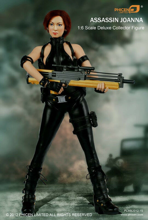 1/6 ASSASSIN JOANNA ACTION FIGURE PERFECT DARK - PHICEN