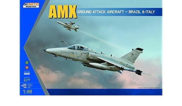 1/48 AMX SINGLE SEAT FIGHTER KINETIC K48026