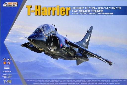 1/48 T-HARRIER T2/T2A/T2N/T4/T4N/T8 TWO SEATER TRAINER