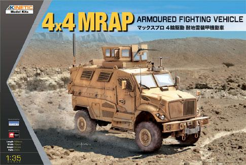 1/35 4 x 4 MRAP ARMOURED FIGHTING VEHIICLE