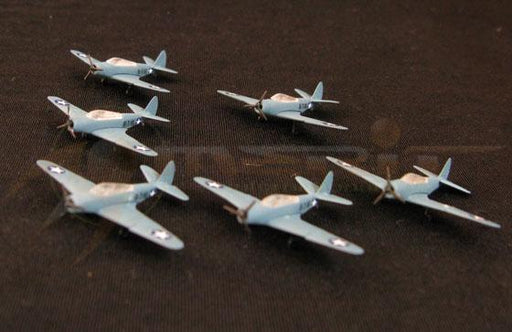 1/350 WWII U.S. TBD-1 TORPEDO BOMBER (SET OF 6)