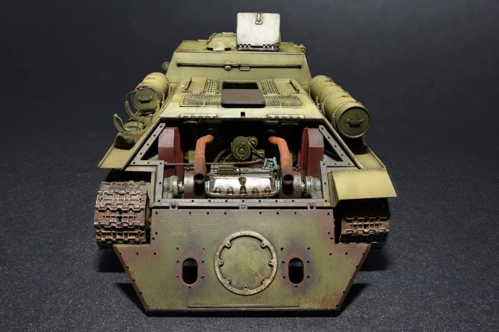 1/35 SU-122 (INITIAL PRODUCTION) WITH FULL INTERIOR (MINIART)