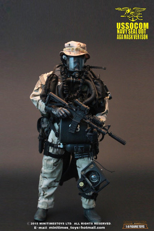 1/6 USSOCOM NAVY SEAL UDT AGA MASK VERSION