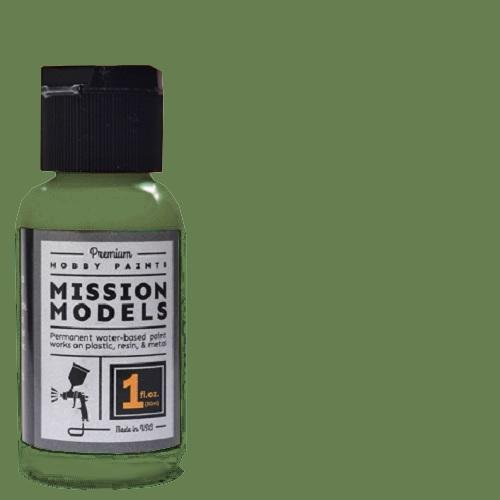 MODEL PAINT - US INTERIOR GREEN FS34151 (MISSION MODELS)