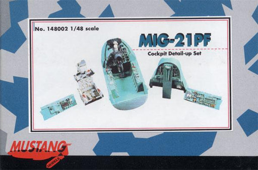 1/48 MIG-21PF COCKPIT DETAIL-UP SET