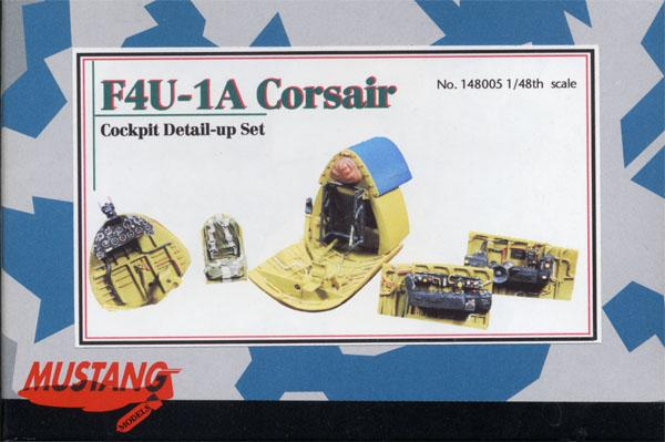 1/48 MUSTANG F4U-1A-CORSAIR COOKPIT DETAIL-UP SET