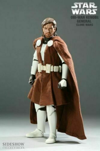 STAR WAR 1/6 GENERAL OBI-WAN KENOBI - STAR WAR ORDER OF THE JEDI by SIDESHOW / HOT TOYS