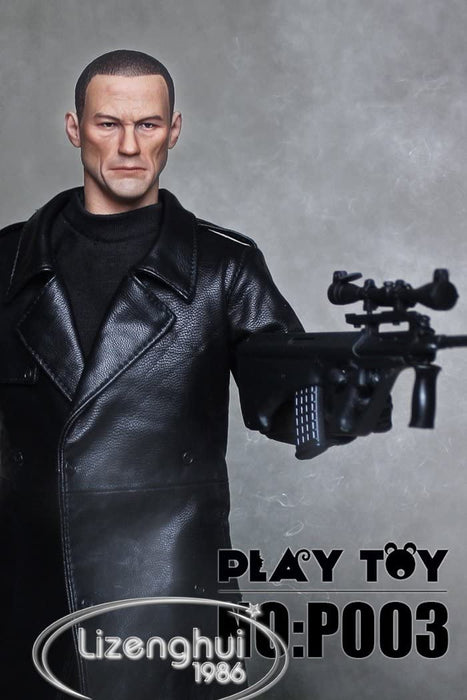 1/6 TERRORIST JEAN CLAUD VAN DAMM HARD TARGET VILLAIN EXPENDABLE BY PLAY TOY