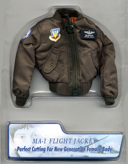 1/6 MODERN FEMALE FLIGHT JACKET
