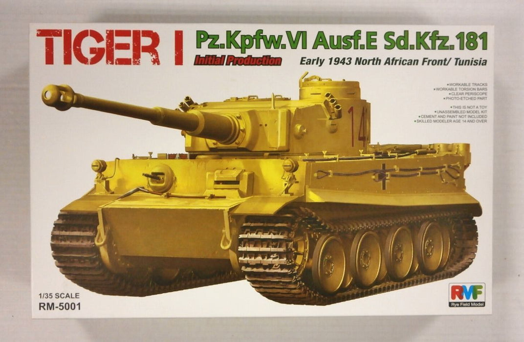 1/35 TIGER I INITIAL PRODUCTION EARLY 1943