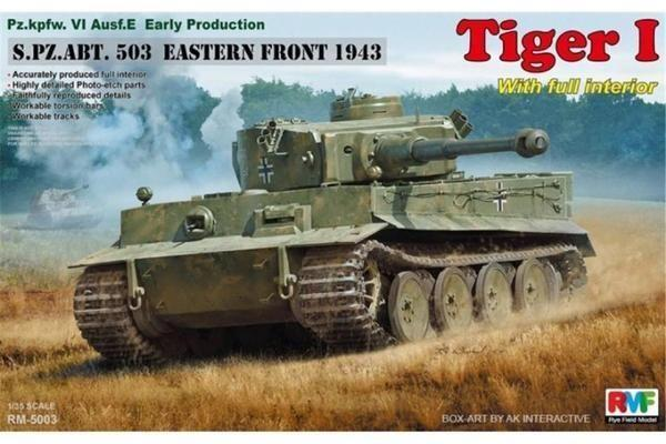 1/35 TIGER I S.PZ.ABT.503 EASTERN FRONT 1943 (RYM FIELD MODE)
