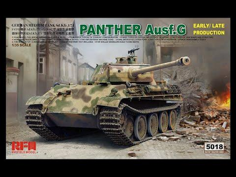 1/35 PANTHER AUSF.G EARLY/LATE PRODUCTION