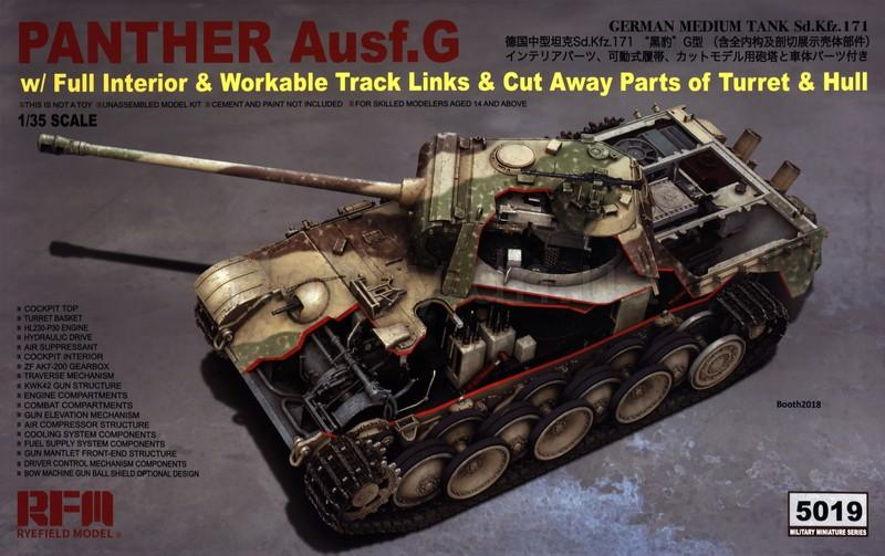 1/35 PANTHER AUSF.G WITH FULL INTERIOR