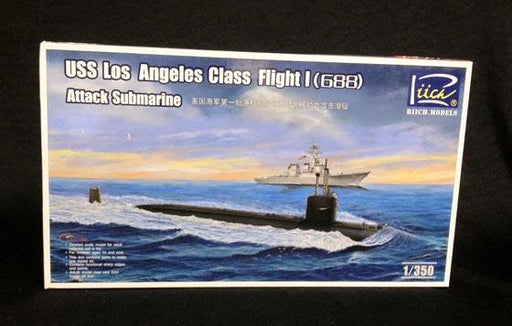 1/350 USS L.A. CLASS FLIGHT I (688) ATTACHK SUBMARINE