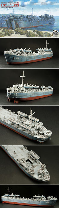 1/350 US WWII LST-1 CLASS AFV CLUB SE73515