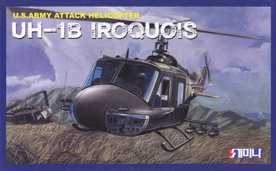 1/48 US ARMY ATTACK HELICOPTER UH-1B IROQUOIS