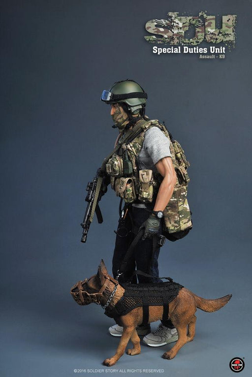 1/6 SPECIAL DUTIES UNIT ASSAULT - K9