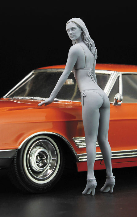 1/24  1966 AMERICAN COUPE TYPE B w/BLOND GIRL'S FIGURE