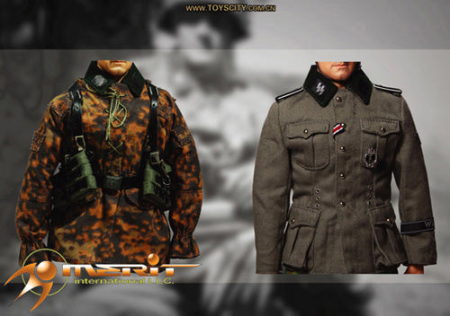 1/6(disc)WWII WAFFEN SS UNIFORM SET 1 (AUTUMN BLURRED EDGE)