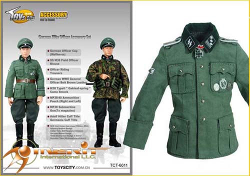 1/6 GERMAN ELITE OFFICER & ACCESSORY SET 1