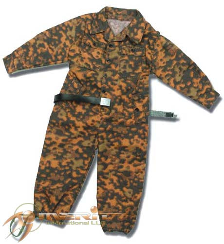 1/6 WAFFEN SS OAK LEAF BE JUMPSUIT W/LEATHER BELT