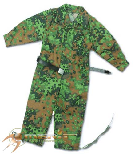 1/6 WAFFEN SS OAK LEAF SPRINT JUMPSUIT W/LEATHER BELT